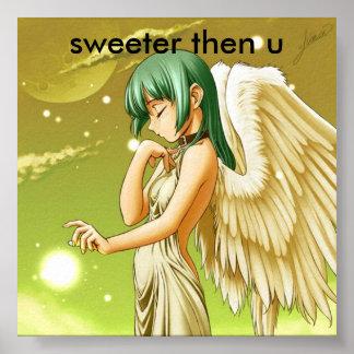manga angel  sweeter then u poster