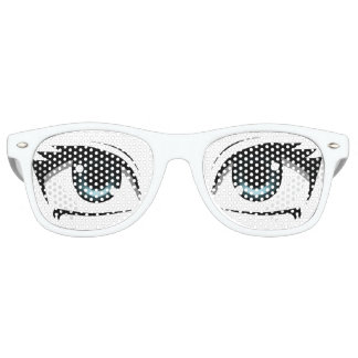 Manga Eyes Retro Sunglasses