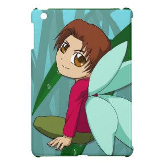 Manga fairies Big eyed boy Case For The iPad Mini