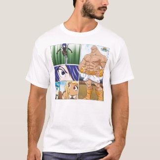 Manga Girls Vs. Big Man T-Shirt