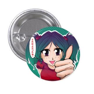 Manga Meisje dat aanmoedigd - Buttons
