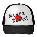 Manga Rocks! Mesh Hats