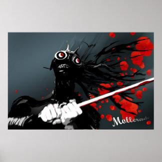 Manga Samurai Poster