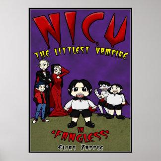 Manga Vampire Poster