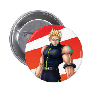 Manga Video Game Hero Pinback Button