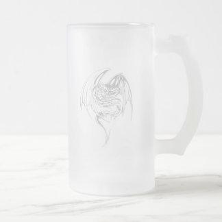 Manga Wyvern Dragon Coffee Mugs