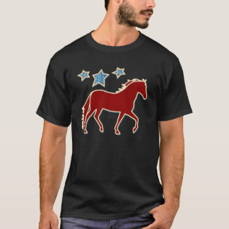 Mangalarga Marchador Festive Stars T-Shirt