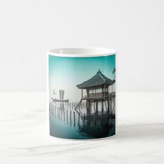 Mangetsu-ji Temple Beside Lake Biwa in Ōtsu Japan Coffee Mug