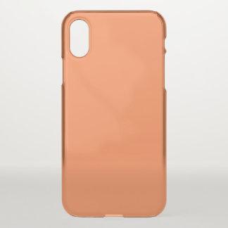 Mango Clear iPhone X Case