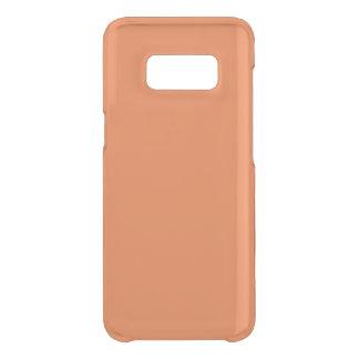 Mango Clear Uncommon Samsung Galaxy S8 Case