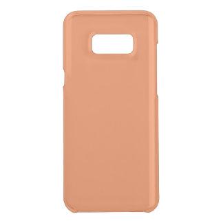 Mango Clear Uncommon Samsung Galaxy S8 Plus Case