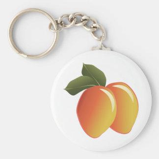 Mango Fruit Key Ring