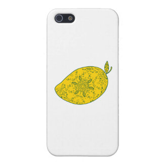Mango Fruit Mandala iPhone 5/5S Cases
