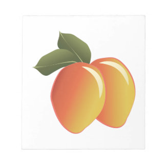 Mango Fruit Notepads