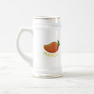 Mango Juicy Fruit Mandala Beer Stein