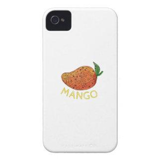Mango Juicy Fruit Mandala Case-Mate iPhone 4 Cases
