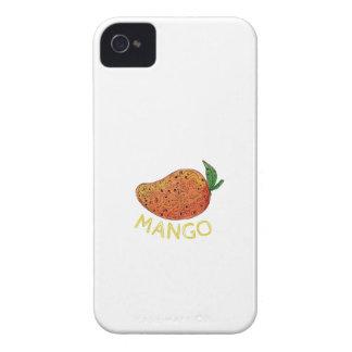 Mango Juicy Fruit Mandala iPhone 4 Cases