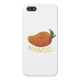 Mango Juicy Fruit Mandala iPhone 5 Cases