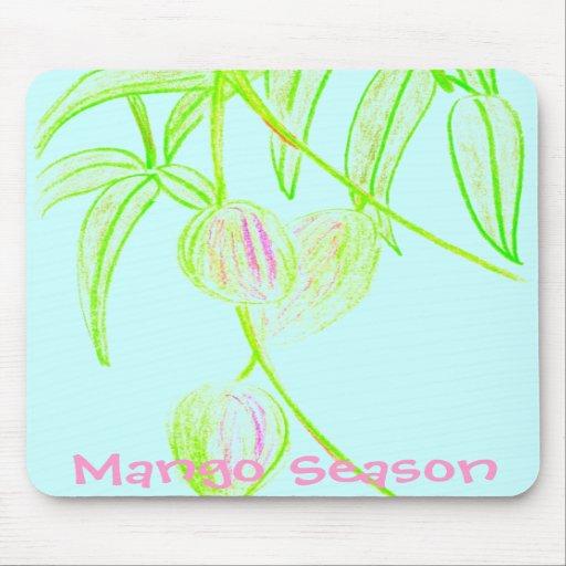 Mango Season Mouse Pad