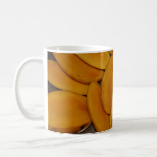 Mango slices coffee mug