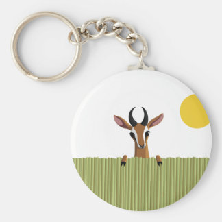 Mango the Gazelle Peek-a-boo Key Ring