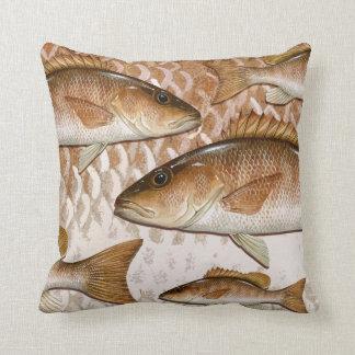 Mangrove Snapper (Gray Snapper) Throw Pillow