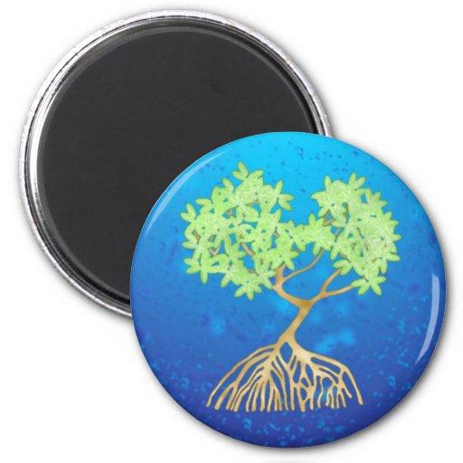Mangrove Tree Fridge Magnet