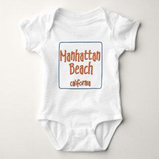 Manhattan Beach California BlueBox Baby Bodysuit