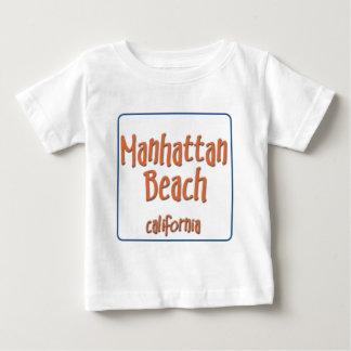 Manhattan Beach California BlueBox Baby T-Shirt