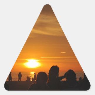 Manhattan Beach Triangle Sticker