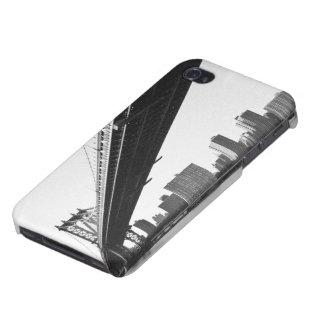 Manhattan Bridge and skyline, New York, US. iPhone 4/4S Case