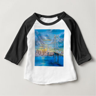 Manhattan Bridge Baby T-Shirt