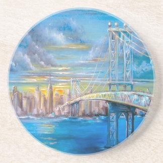 Manhattan Bridge Drink Coasters