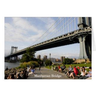 Manhattan Bridge, New York Greeting Card