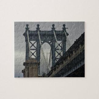 Manhattan Bridge NYC Landmark Jigsaw Puzzle