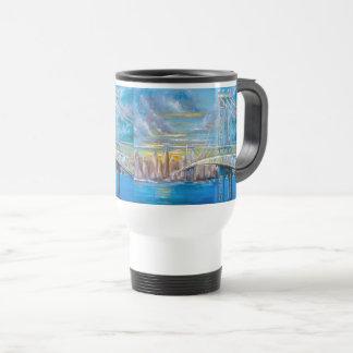 Manhattan Bridge Travel Mug