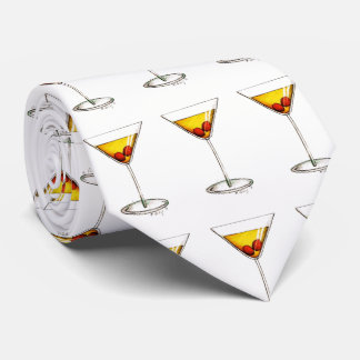 Manhattan Cocktail Glass NYC Cocktails Tie
