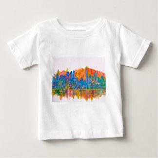 Manhattan Color Wave Baby T-Shirt