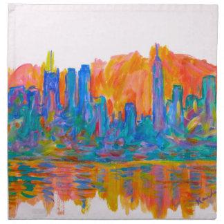 Manhattan Color Wave Napkin
