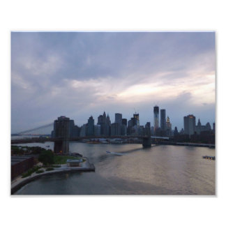 Manhattan Gloaming Photo Art