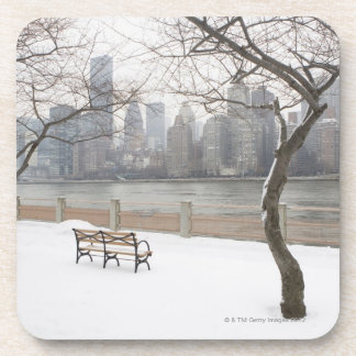 Manhattan in the Winter Drink Coaster