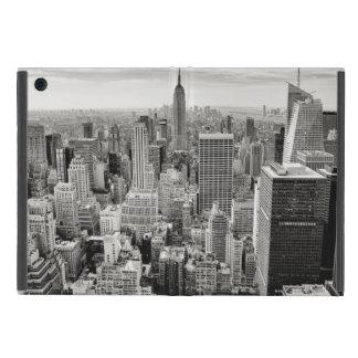 Manhattan, New York (black & white panorama) iPad Mini Cover