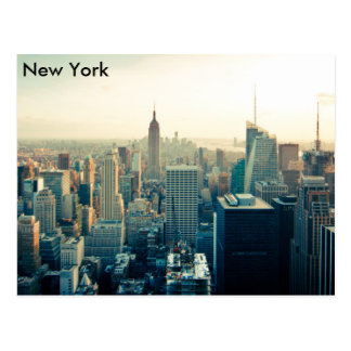Manhattan, New York city skyline Postcard