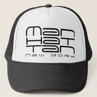 Manhattan New York Cool Trucker's Hat