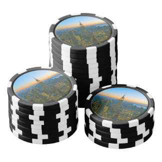 Manhattan New York Poker Chips