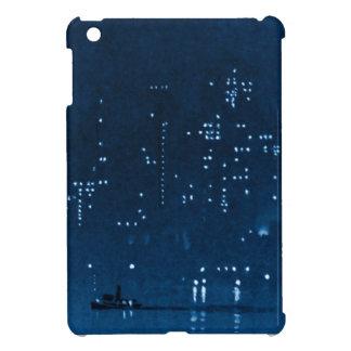 Manhattan Night Lights 1921 iPad Mini Cover
