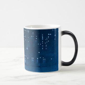 Manhattan Night Lights 1921 Coffee Mugs