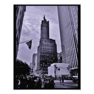 Manhattan Scene Photo Print