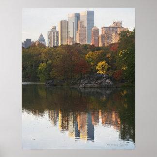 Manhattan Skyline 2 Poster