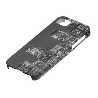 Manhattan Skyline At Night, New York City Barely There iPhone 5 Case